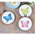 """Miniatur-Stickbilder """"Schmetterlinge"""", 3er-Set"""