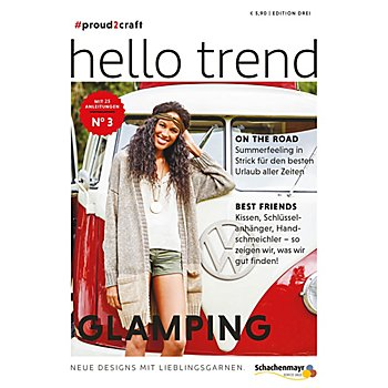 Schachenmayr Heft 'Trendmagazin Nr. 3 - Glamping'