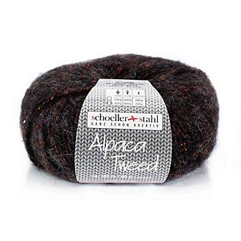 Schoeller + Stahl Wolle Alpaca Tweed, torf