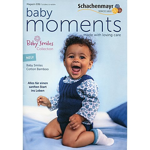 """Image of Schachenmayr Heft """"Baby Moments Nr. 036 - Baby Smiles Collection"""""""