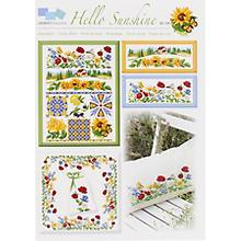 Stickvorlage 'Hello Sunshine'