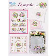 Stickvorlage 'Rosengarten'