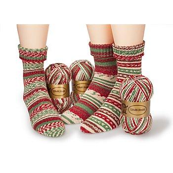 Set éco Woll Butt laine à chaussettes 'magie de l'hiver', 300 g