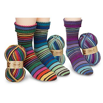 Woll Butt Sockenwollpaket 'Farbenspiel', 300 g