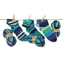 Set éco Woll Butt laine à chaussettes 'maritime', 300 g