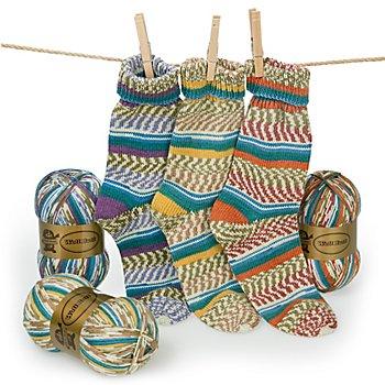 Set éco Woll Butt laine à chaussettes 'Gipfelglück', 300 g