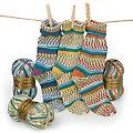 """Set éco Woll Butt laine à chaussettes """"Gipfelglück"""", 300 g"""