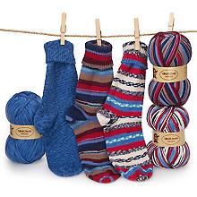 Set éco Woll Butt laine à chaussettes 'Weser', 300 g