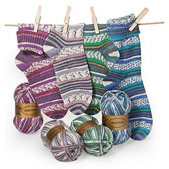 Set éco Woll Butt laine à chaussettes 'Fürth', 400 g