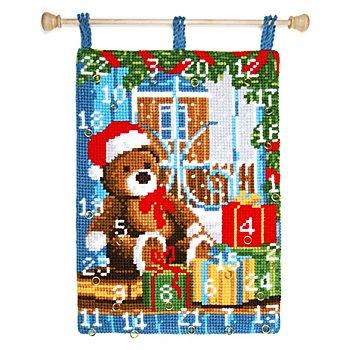 Adventskalender 'Teddybär'