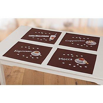 Tischset 'Coffee', 4er-Set