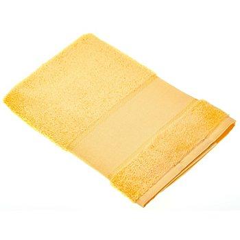 buttinette Serviette en tissu éponge à broder, jaune clair