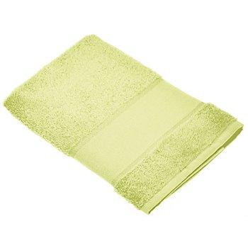 buttinette Serviette en tissu éponge à broder, citron vert