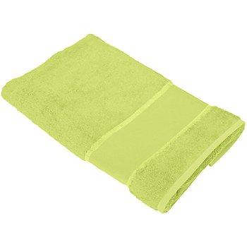buttinette Serviette de toilette à broder, citron vert
