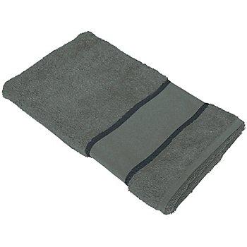 buttinette Serviette de toilette à broder, granite