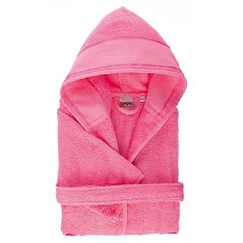 Image of buttinette Kinder-Bademantel, Grösse 122/128, rosa