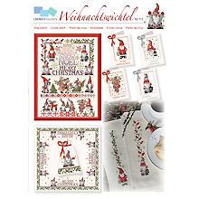 Stickvorlage 'Weihnachtswichtel'