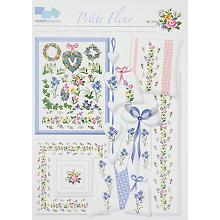 Stickvorlage 'Petite Fleur'