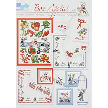 Stickvorlage 'Bon Appétit'