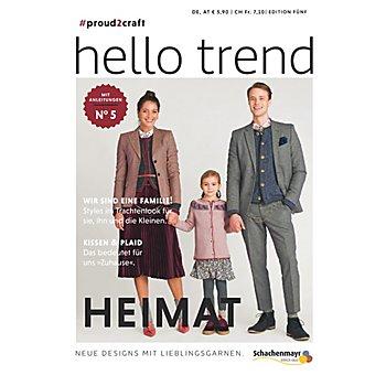Schachenmayr Heft 'Trendmagazin Nr. 5 - Heimat'
