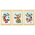 """Stickbilder """"Weihnachten"""", 8 x 12 cm, 3er-Set"""