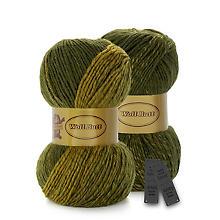 Woll Butt Accessoires-Set Tiara, oliv color