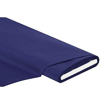 Tissu batiste uni, bleu foncé