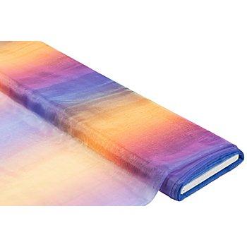 Feiner Organza 'Rainbow', bunt
