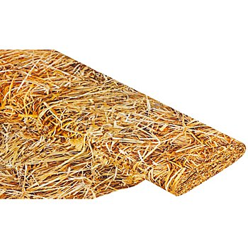 Baumwollstoff-Digitaldruck 'Stroh Ria', gelb-color