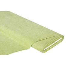 Baumwollstoff Jeans-Optik 'Mona', grün/weiss