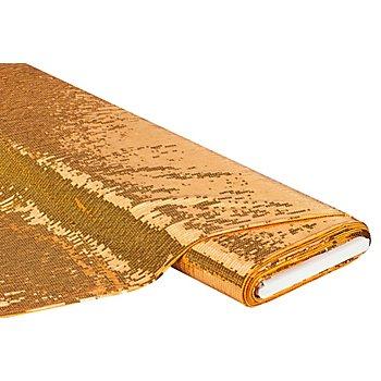 Stretch-Paillettenstoff 'Stage', gold