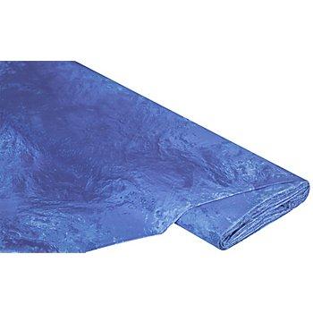 Baumwollstoff-Digitaldruck 'Wasser Ria', blau