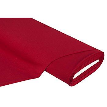 Tissu jersey romanite 'Gianni' avec de l'élasthanne, rouge