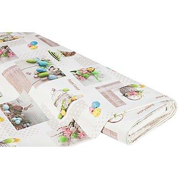 Canvas-Digitaldruck 'Ostern', natur-color