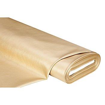 Nappaleder-Imitat 'Metallic', gold