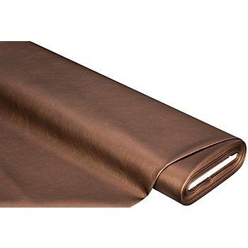 Similicuir nappa 'métallique', cuivre