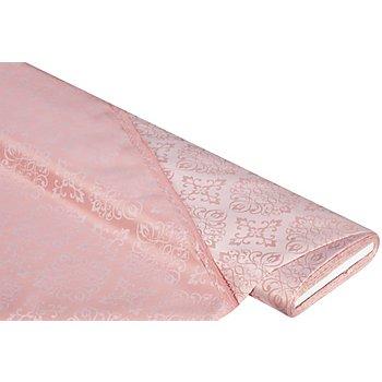 Damast 'Ornament', perlrosa, mit Fleckschutz