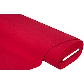 Tissu pour manteaux 'Soft', rouge