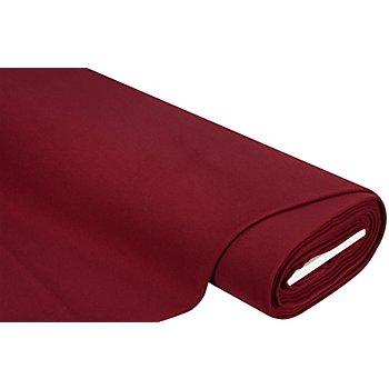 Tissu pour manteaux 'Soft', bordeaux