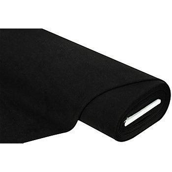 Mantelstoff 'Soft', schwarz