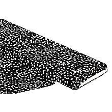 Viskose-Jersey, schwarz-ecru