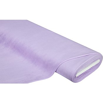Tissu velours nicky 'Supersoft', lilas