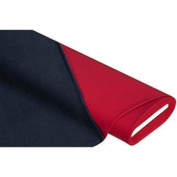 Tissu softshell 'montagne', rouge/bleu