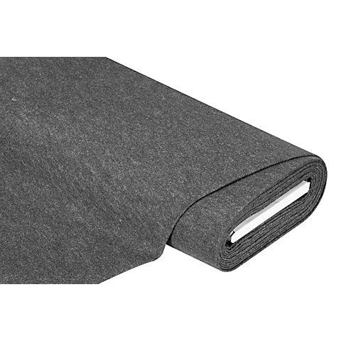 Image of Bastelfilz, Stärke 1,3 mm, graphit-melange