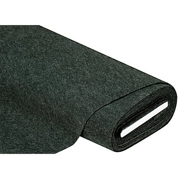 Bastelfilz, Stärke 1,3 mm, dunkelgrün-melange