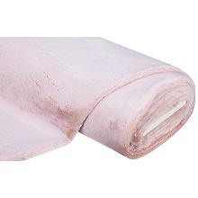 Tissu imitation fourrure, rose clair