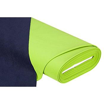 Tissu softshell 'montagne', vert/bleu