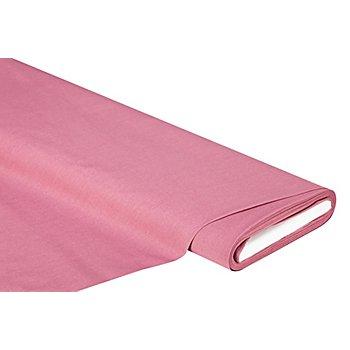 Tissu coton uni, bois de rose