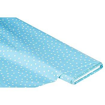 Linge de table épongeable - toile cirée 'pois', bleu clair/blanc