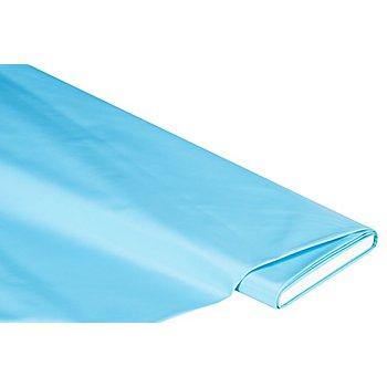 Abwaschbare Tischwäsche - Wachstuch Uni, hellblau